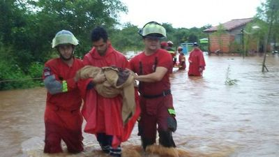 Más de 70 viviendas inundadas en Capiatá