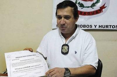 Comisario recusó a fiscala, buscando suspender extracción de llamadas