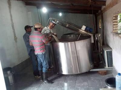 Habilitan centro de acopio lechero en Cordillera