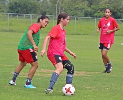 Albirroja Femenina Sub 17: Continúan los trabajos de preparación de cara al Sudamericano