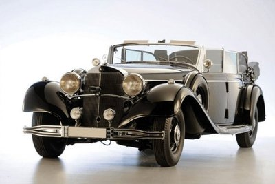 El Super Mercedes de Hitler no encuentra comprador