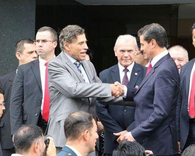 Peña Nieto promete gestionar firma de integración de Paraguay en Alianza del Pacífico