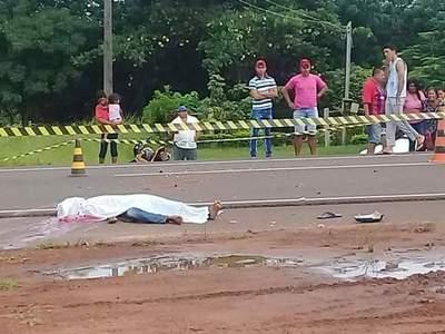 Fatal accidente en Horqueta