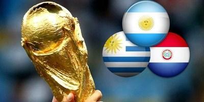 ARGENTINA, PARAGUAY Y URUGUAY SE REUNIRÁN EN MONTEVIDEO POR MUNDIAL 2030