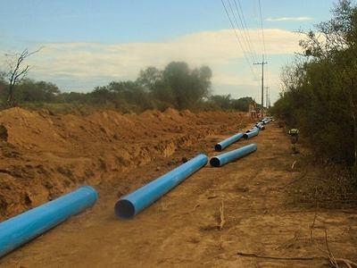 Avanza construcción de acueducto para el Chaco Central