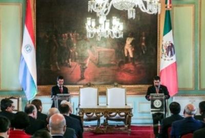 Cartes resalta acuerdos  suscritos con México y  valora su cooperación