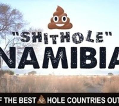 """Namibia responde a Trump: """"Los invitamos a visitar un país de mierda"""""""