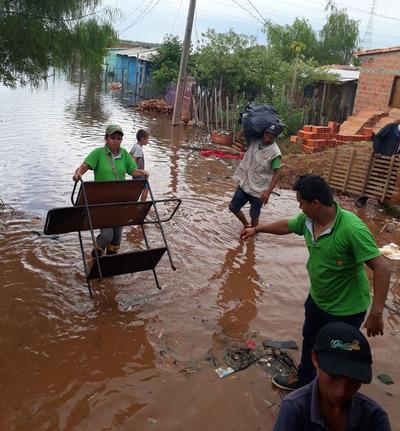 Río Paraguay alcanzó los 5,68 metros