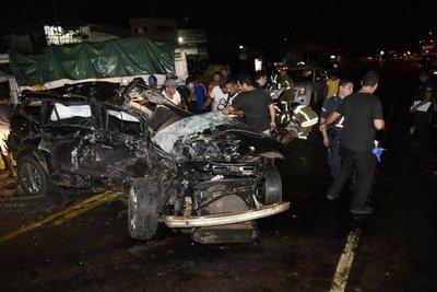 Aparatoso accidente sobre Ruta 1 deja heridos
