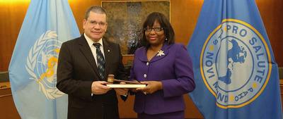 OPS destaca avances y logros del ministro Barrios