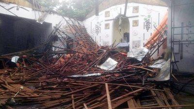 Feroz temporal: ni la casa de Kirito se salvó de la naturaleza