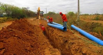 Avanzan obras para la provisión de agua potable a familias del Chaco