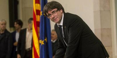 Proponen a Puigdemont como candidato a presidente de la región