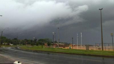 Alerta de tormentas para nueve departamentos