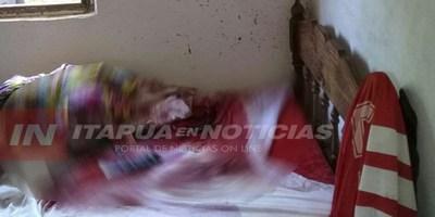 ENCUENTRAN A UN HOMBRE MUERTO DE UN ESCOPETAZO EN LA CABEZA.