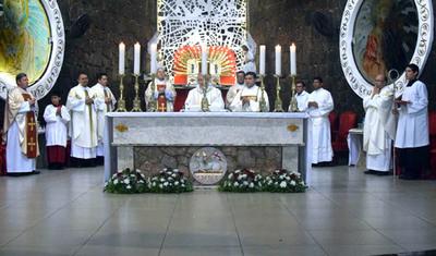 Con el rezo del Ángelus se inicia el novenario en honor a San Blas