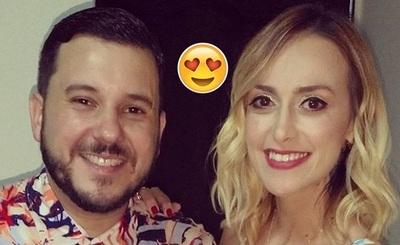 José Ayala Y Sofía Gómez Celebran Once Años Juntos