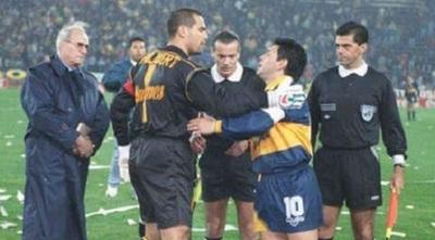 Maradona dispara contra el Chila y lo trata de gordo