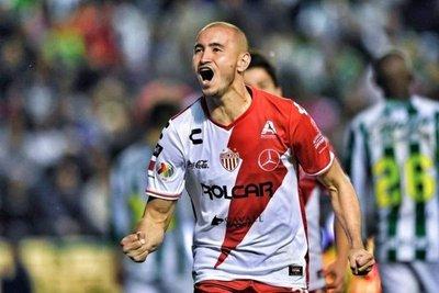 González, entre los artilleros en el Clausura