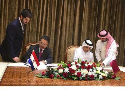 Paraguay y Qatar firman acuerdos económicos