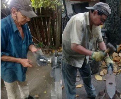 Puerto Casado, la cuna de los magos que tallan las guampas de acero