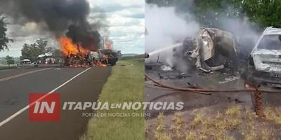 TRÁGICO ACCIDENTE DEJA VARIOS MUERTOS EN MISIONES-ARGENTINA.