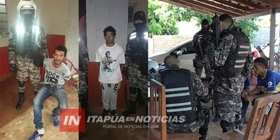 ROJAS RESALTA BUENA ACCIÓN DE POLICÍAS LINCES EN LA CIUDAD