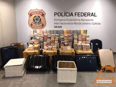 Incautan más de 400 kg. de cocaína oculta bajo carga de soja y que iba de PJC a Brasil