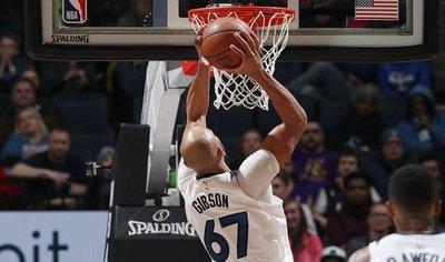 NBA: Timberwolves dan tributo a Saunder con victoria