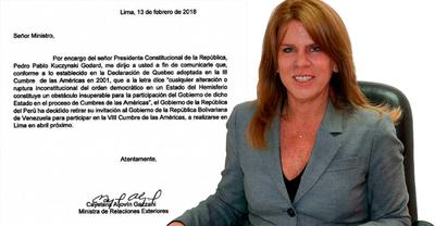 Kuczynski retiró invitación a Maduro para participar de Cumbre de las Américas