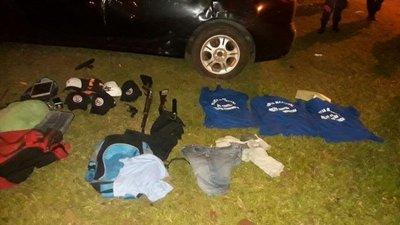 Capturan a asaltante tras enfrentamiento en Alto Paraná