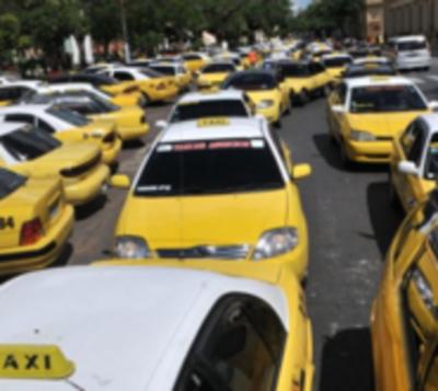 Estas son las calles que serán copadas por los taxistas este miércoles