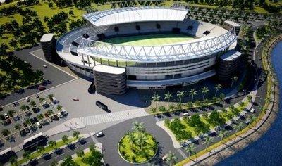 Avanzan los trabajos para estadio de la Liga Encarnacena