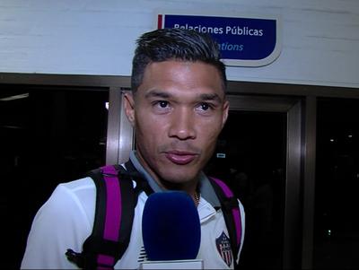 Yimmi Chará y Teo Gutierrez analizaron la serie ante Guaraní