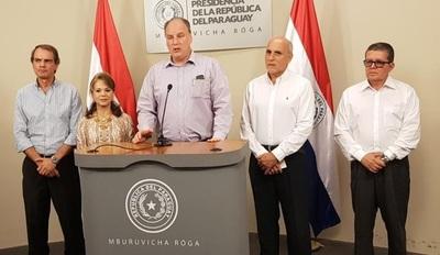 Directores de la Itaipú Binacional se reunieron con Cartes