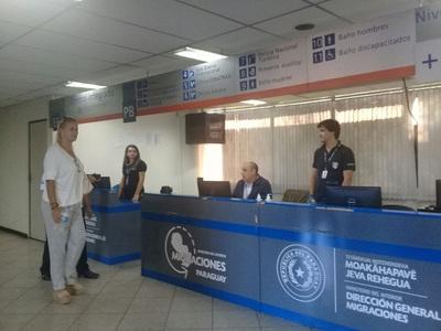 Verifican funcionamiento del sistema biométrico de migración
