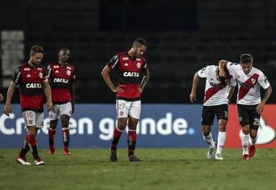 River salva un punto de Río ante Flamengo