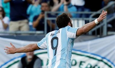 Higuaín vuelve a la selección argentina