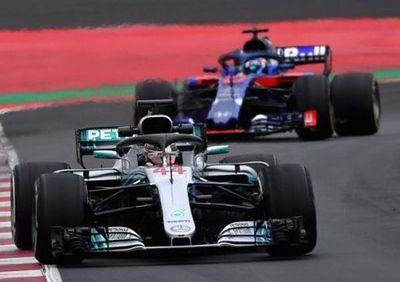 Hamilton fue el más rápido de esta semana en los ensayos de Montmeló