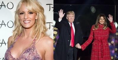 Actriz porno demanda a Donald Trump