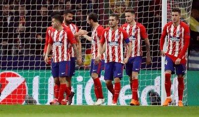El Atlético acomoda el pase a cuartos de Europa League