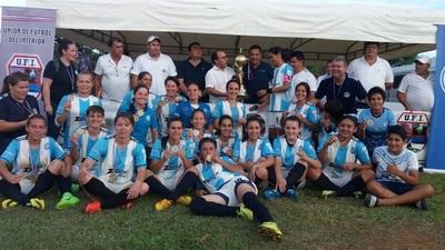Guaireña es campeona del Interligas Femenino