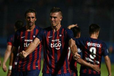 Goles de Diego Churín para la victoria de Cerro Porteño 2-1 ante Defensor