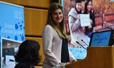 Llegó a Paraguay princesa de Jordania