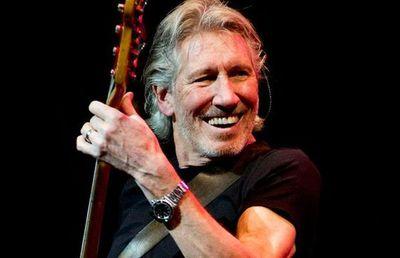 Roger Waters se une a una banda palestina para protestar contra Trump