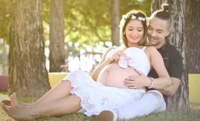 La Tierna Sesión De Fotos De Mariela Bogado Luciendo Su Pancita De Embarazada