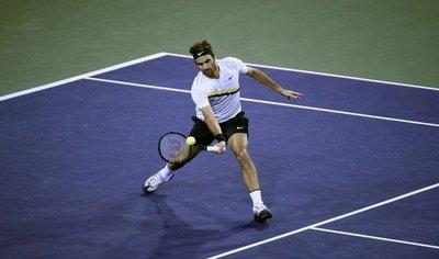 Federer vuela hacia el título en Indian Wells