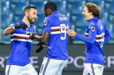 Destaca visita del Inter a Sampdoria