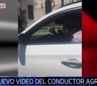 Video muestra rostro de hombre que llevó a agente de la PMT en su capó