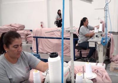Una de las fábricas textiles más grandes de Brasil llegó a CDE